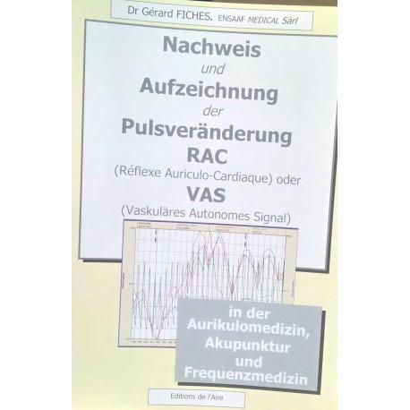 DE: Nachweis und Aufzeichnung der Pulsveränderung